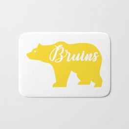 Yellow Bruins Bear Bath Mat