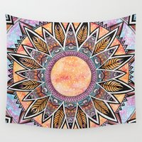 phoenix Wall Tapestries featuring Phoenix by Epenski