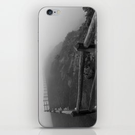 disappearing iPhone Skin