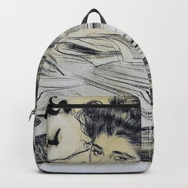 Ramon Casas - Headpiece For The Magazine 'pel And Ploma' - Digital Remastered Edition Backpack
