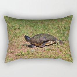 Jogging Turtle Style Rectangular Pillow