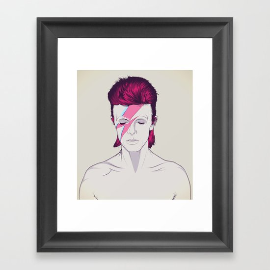 D.B. Framed Art Print