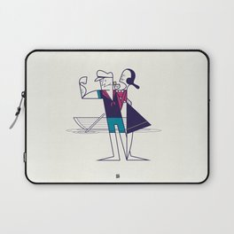 We will sail away Laptop Sleeve
