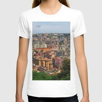 skyline T-shirts featuring Skyline by Amy Taylor