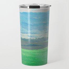 Watercolor painting of the Chianti hills Travel Mug
