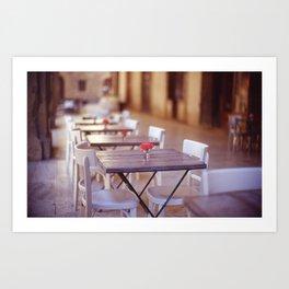 Tuscany Rose Art Print