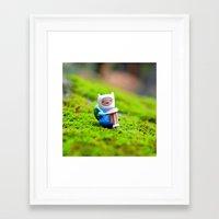 finn Framed Art Prints featuring Finn by mossallthetime