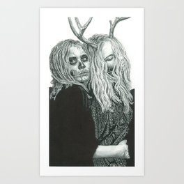 Olsen Twins Art Print