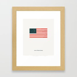 America: Freedom Loading Framed Art Print