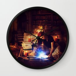 Stories Mystic Scene  Wall Clock