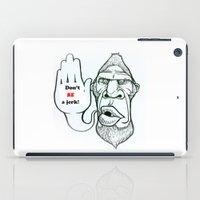 sasquatch iPad Cases featuring Sasquatch say... by Blu Bullvyn