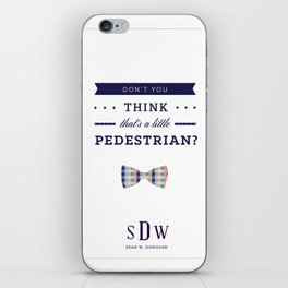 Sean W. Donovan Quote iPhone Skin
