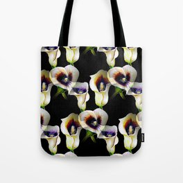 Arum Calla Lilies Pattern in Watercolor Tote Bag