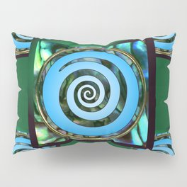 Paua Koru 2 Pillow Sham