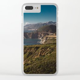 Big Sur California XII Clear iPhone Case