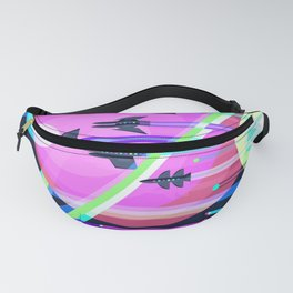 The Grand Tour : Vintage Space Poster Cool Fanny Pack