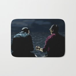 John and Rodney on the Pier Bath Mat