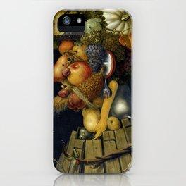 "Giuseppe Arcimboldo ""Four seasons - Autumn"" iPhone Case"