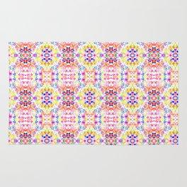 Floral Print - Brights Rug