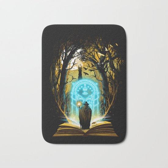 Book of Magic and Adventures Bath Mat