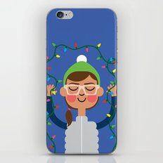 Holiday with Lights iPhone & iPod Skin