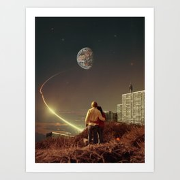 We Used To Live There, Too Art Print