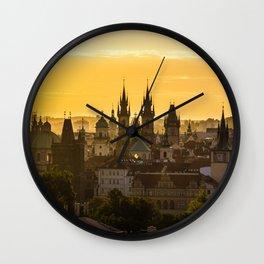 Prague Dawn Wall Clock