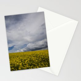 Sky and yellow Stationery Cards