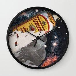 Al Fresco Ice Block Party Wall Clock