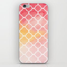 Oriental pattern iPhone Skin