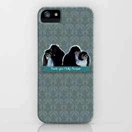 Thank you Molly Hooper iPhone Case
