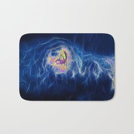 Ice cold in Blue Bath Mat