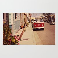vw bus Area & Throw Rugs featuring VW BUS by INEVITABLE 27