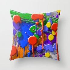 Drip Porn Throw Pillow