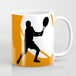 TENNIS Clay Backhand Balls Coffee Mug