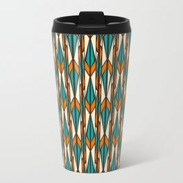 Twilight forest pattern in retro style Travel Mug
