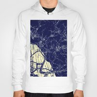the lights Hoodies featuring Lights by Maria Giorgi