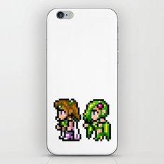 Final Fantasy II - Rosa and Rydia iPhone & iPod Skin