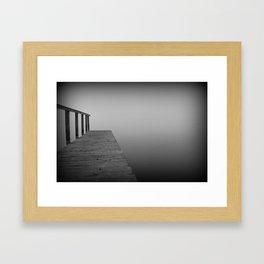 What lies beyond...... Framed Art Print