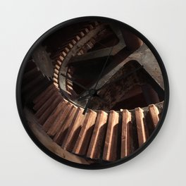 Grist Mill Gears Wall Clock