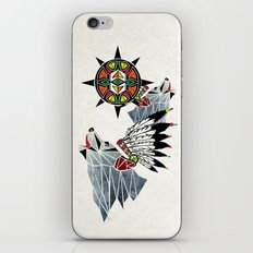 wolf king iPhone & iPod Skin
