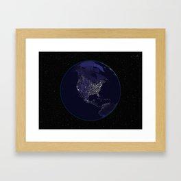 Our World Framed Art Print