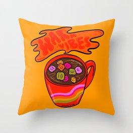 Warm Vibes Throw Pillow