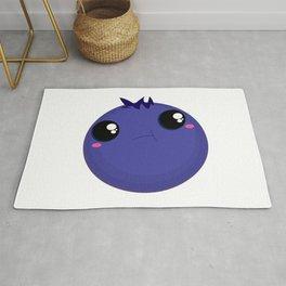 Smug Bloob Blueberry Rug