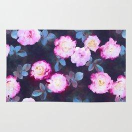 Twilight Roses Rug