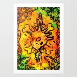 Lucky goes popn°5 Art Print