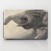 taurus iPad Cases featuring Taurus by Jerry Watkins