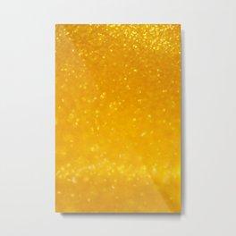 Golden lights Metal Print