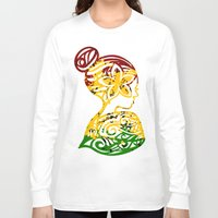 rasta Long Sleeve T-shirts featuring Rasta Lady by Lonica Photography & Poly Designs