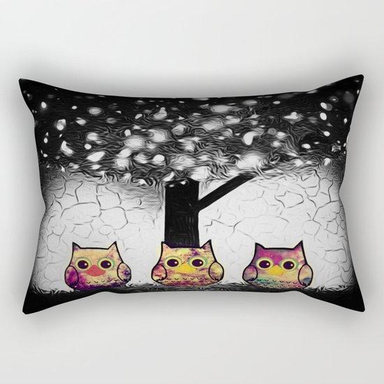 owl-52 Rectangular Pillow
